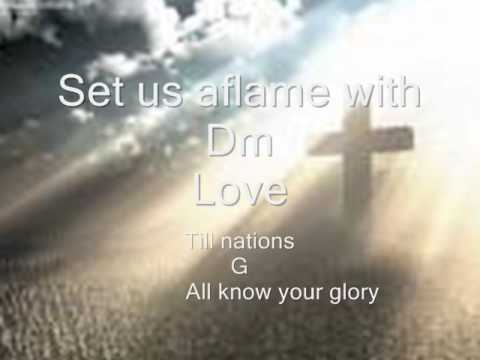 All the earth by Don Moen with lyrics and chords