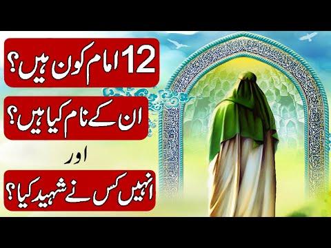 Download History & Biography of The Twelve Imams (12 imams) in Hindi & Urdu