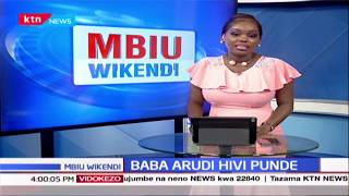 Mama Ida Odinga awaarifu Wakenya Raila Odinga atarudi nchini hivi karibuni | KTN Mbiu Wikendi