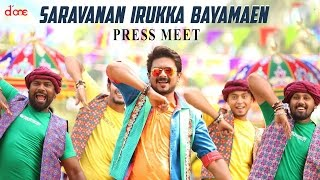 """Saravanan Irukka Bayamaen"" Movie Press Meet 