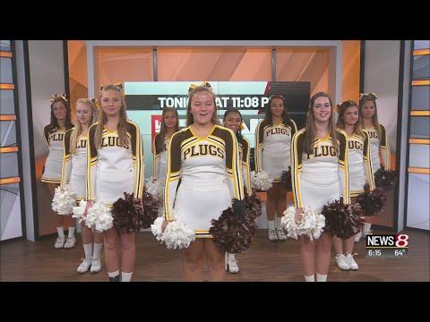Speedway HS cheerleaders perform on Daybreak