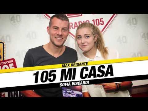 Sofia Viscardi, Youtuber e scrittrice, a 105 Mi Casa, il video