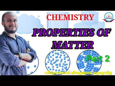 Chemistry-Properties of Matter-Part II- Class 8
