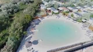 Camping Soleil d'Oc - Lagon de baignade naturelle