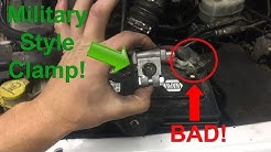 Battery Terminal Clamp Replacement DIY (Any Vehicle) - EASY