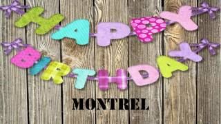 Montrel   Birthday Wishes