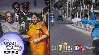 Indian President Visits Nepal | VVIP सवारी | Nepal Reacts!  Brought to you by Cheers!
