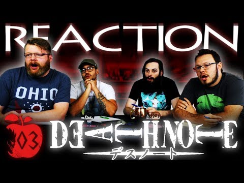 "Death Note Episode 3 REACTION!! ""Dealings"""