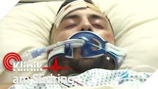Schädel muss geöffnet werden: Aber er liegt zu schwach im Koma! | Klinik am Südring | SAT.1 TV