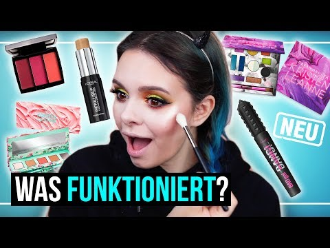 FULL FACE of FIRST IMPRESSIONS – Makeup testen – Drogerie, Urban Decay, ABH, Profit, …