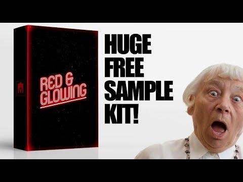 Free Sample Packs 2017 - Red & Glowing Kit (free trap sample pack 2017)