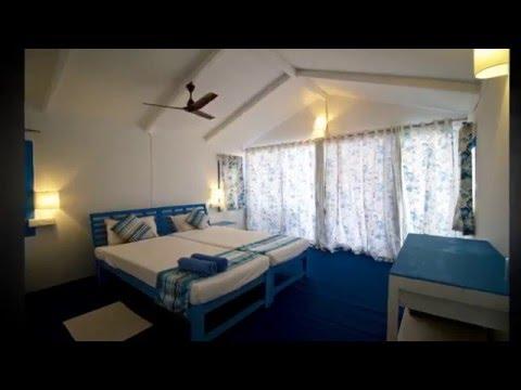 Beach bungalows Agonda Beach South Goa
