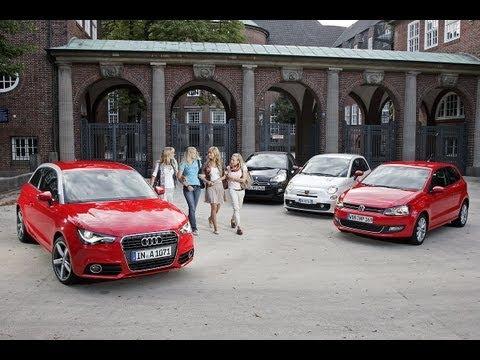 Der Audi A1 im ersten Vergleich