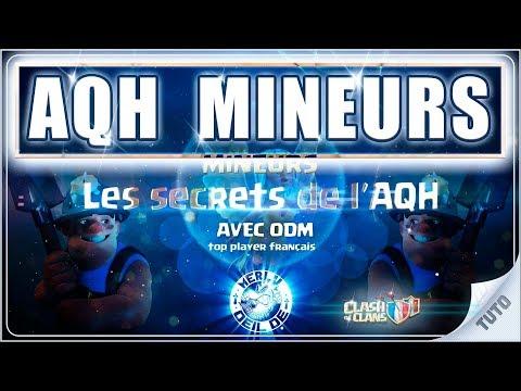 LES SECRETS de l'AQH MINEURS : apprenez à perfect comme les MEILLEURS sur Clash of Clans FR