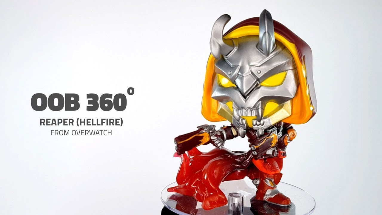 Reaper édition spéciale Hellfire Overwatch Figure No Funko POP 498 NEUF