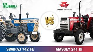 Swaraj 742 FE vs Massey Ferguson 241 Di Planetary Plus | Comparison Video | 2021