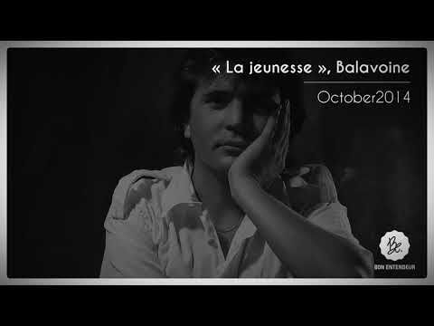 La jeunesse, Balavoine, October2014