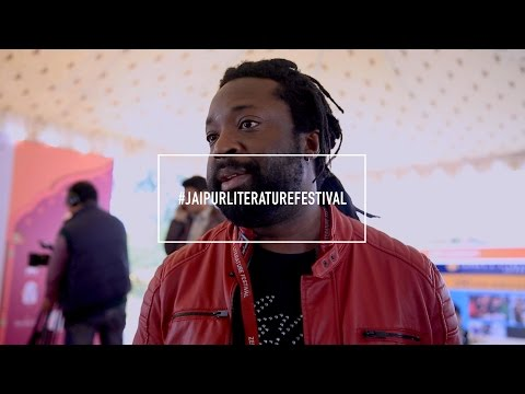 Jaipur Literature Festival- with Marlon James: 'West loves fairies & hobbits. I'm kinda tired'