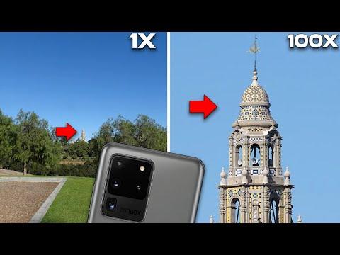 Samsung Galaxy 20 Ultra 100X Zoom - SUPER 100X ZOOM