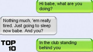 Top 10 People CAUGHT Cheating Through Text Message