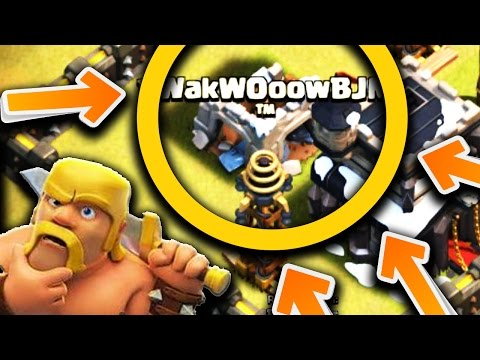 CLAN CASTLE DESTROYED NO TROOPS DEPLOYED! + WITCH SLAP ATTACK STRATEGY | WD#18 | Clash of Clans