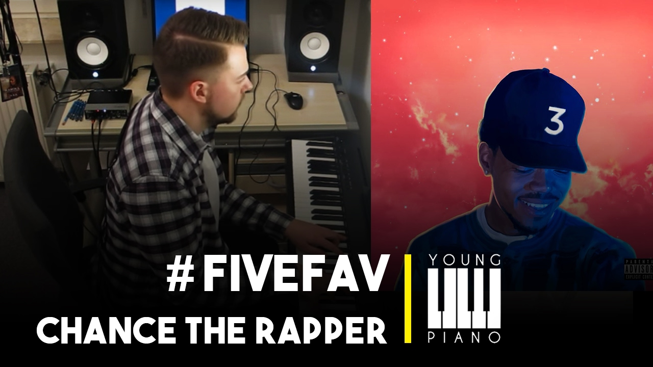 Chance The Rapper Coloring Book Cover By Young Piano Fivefav