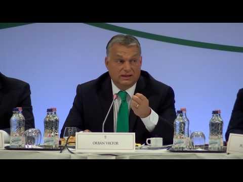 Orbán Viktor beszéde az MDT VII. plenáris ülésén 2017.11.09.