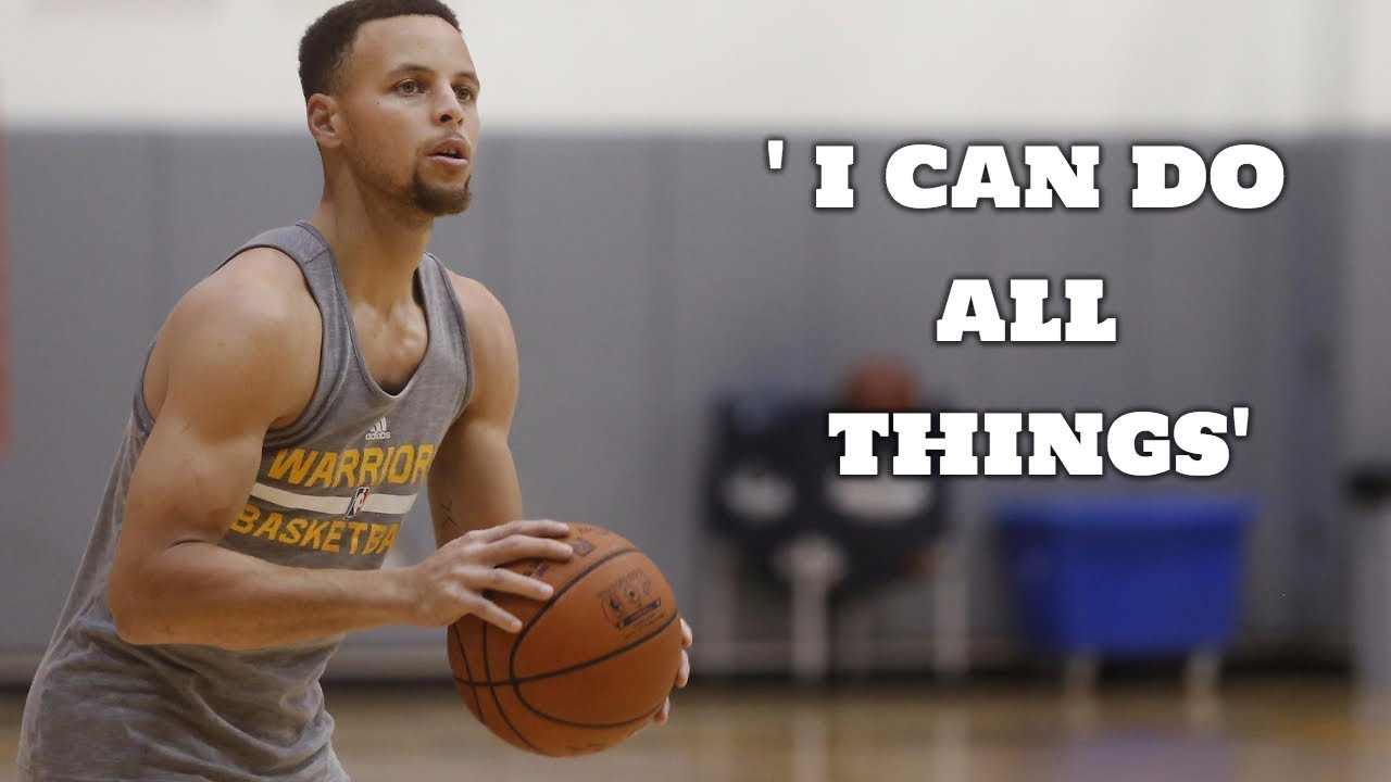 Stephen Curry I Can Do All Things Motivational Workout