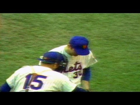 1969 WS Gm3: Nolan Ryan picks up the save
