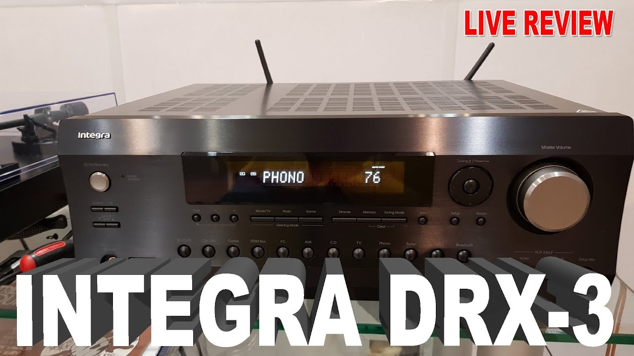 INTEGRA DRX-3 AV RECEIVER DRIVER