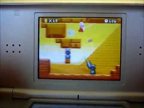 How to get to World 4 in New Super Mario Bros Ds Unlock Walkthrough + All Star Coins