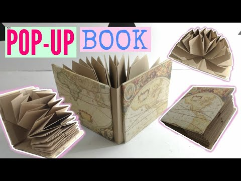 how to make a pop up book