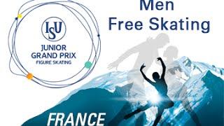 2016 ISU Junior Grand Prix - St. Gervais - Men Free Skate
