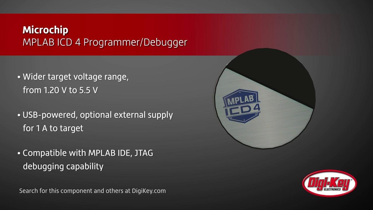 Microchip Mplab Icd 4 Programmer Debugger Digi Key Daily Youtube Usbpowered Pic Circuit Diagram