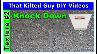 Spraying Knock Down Texture.  Learn the 🔐 SECRETS 🔐 only PROS know using this $30 Tool