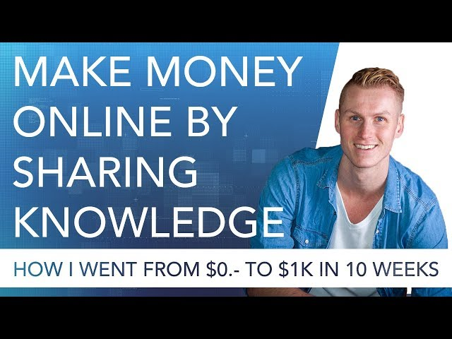 #2 Make Money Online Through Sharing Knowledge