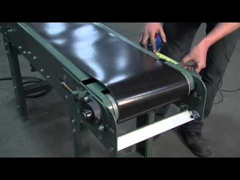 Lewco Conveyor Belt Tension And Tracking Youtube