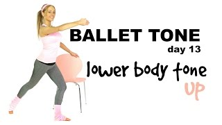 BEGINNERS WORKOUT - LOWER BODY TONE AND SCULPT - BODYWEIGHT MOVES  LOW IMPACT