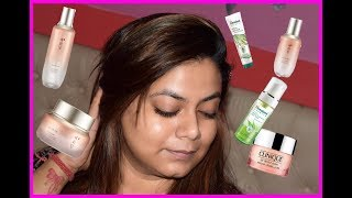 Night Time Skin Care Routine | Using Himalaya and Yehwadam Range By The Face Shop