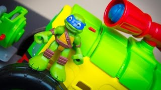 Teenage Mutant Ninja Turtles Half-Shell Heroes Shellraiser Leonardo Ninja Turtle Toys