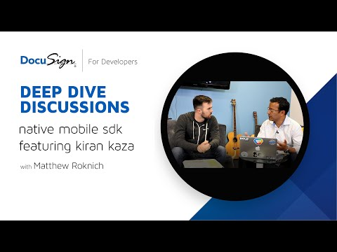 DocuSign Developer: iOS SDK with Matthew Roknich