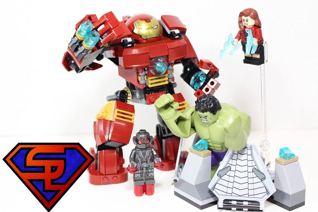 Avengers Age Of Ultron LEGO Hulkbuster Smash Marvel Super