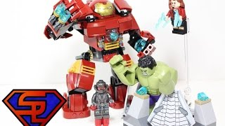 Avengers Age Of Ultron Lego Hulkbuster Smash Marvel Super Heroes Building Toy Set Review