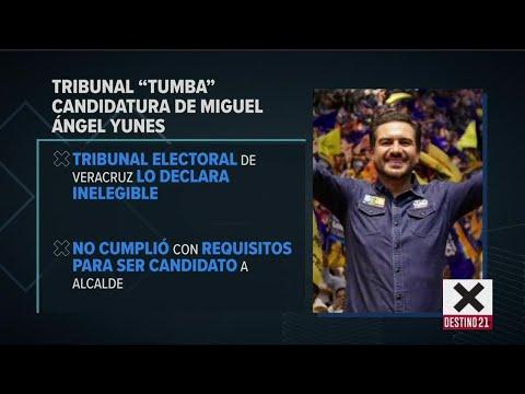 Tribunal quitan candidatura de Yunes en Veracruz por el PAN | Noticias con Ciro Gómez Leyva