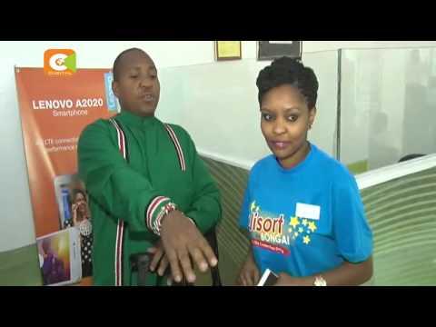 Mhudumu wa Safaricom atuzwa kwa utu wake