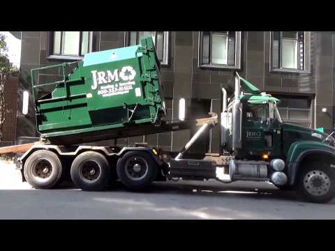 J.R.M. Hauling and Recycling 406 - Mack Granite Premier roll