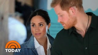 Inside Prince Harry And Meghan Markle's Battle With British Tabloids | TODAY