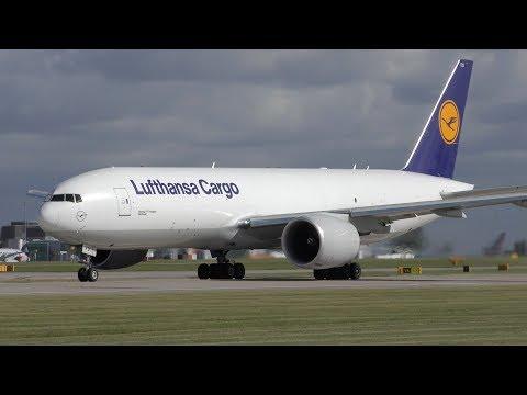 20 Close Up Takeoffs: A380, 777, A330, 787, 767, 757, CS100, A321, 737, A320 Manchester Airport