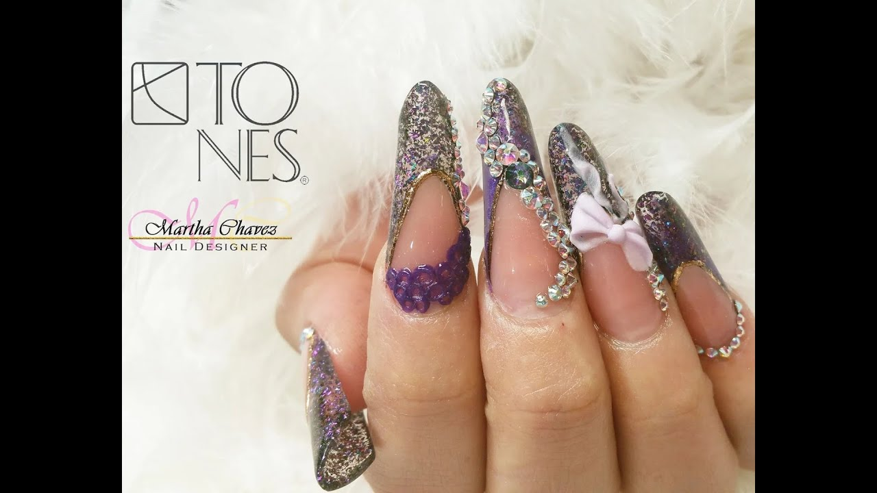 ◇Special Effects Nail Design by TONES PRODUCTS◇•° - YouTube