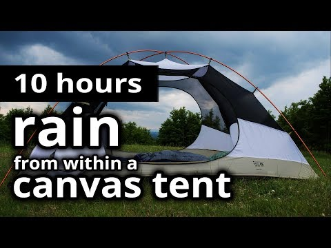 100001 Rain Sounds  rain From Within A Tent  - Summer Rain On A Tent - Relaxation u0026 Meditation & Rain Sound Sleep - Game Online